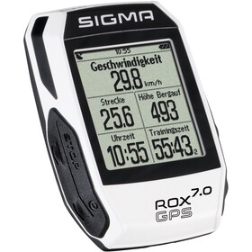 SIGMA SPORT ROX 7.0 Komputer rowerowy GPS, white